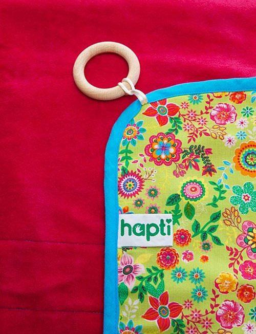 Hapti Decke 1 - 6 Demenz - pink Nicky