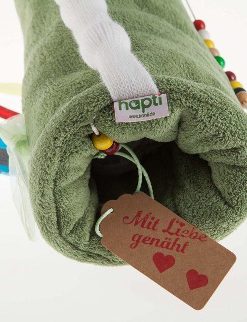 Hapti Muff grün - Beschäftigung für Demenzkranke