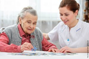 Beschäftigung für Demenzkranke